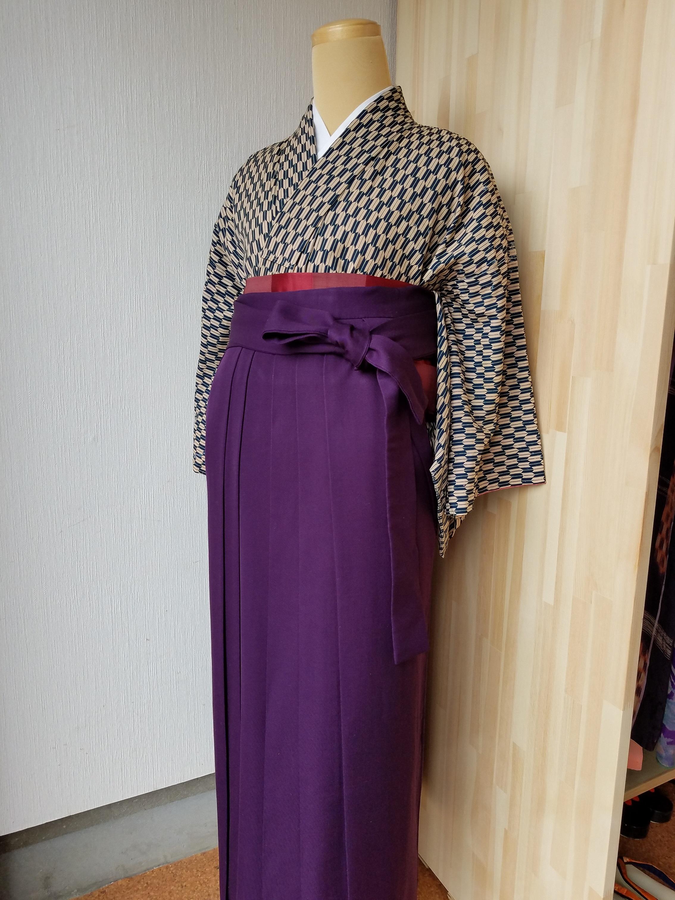 Stroll the town in Kimono