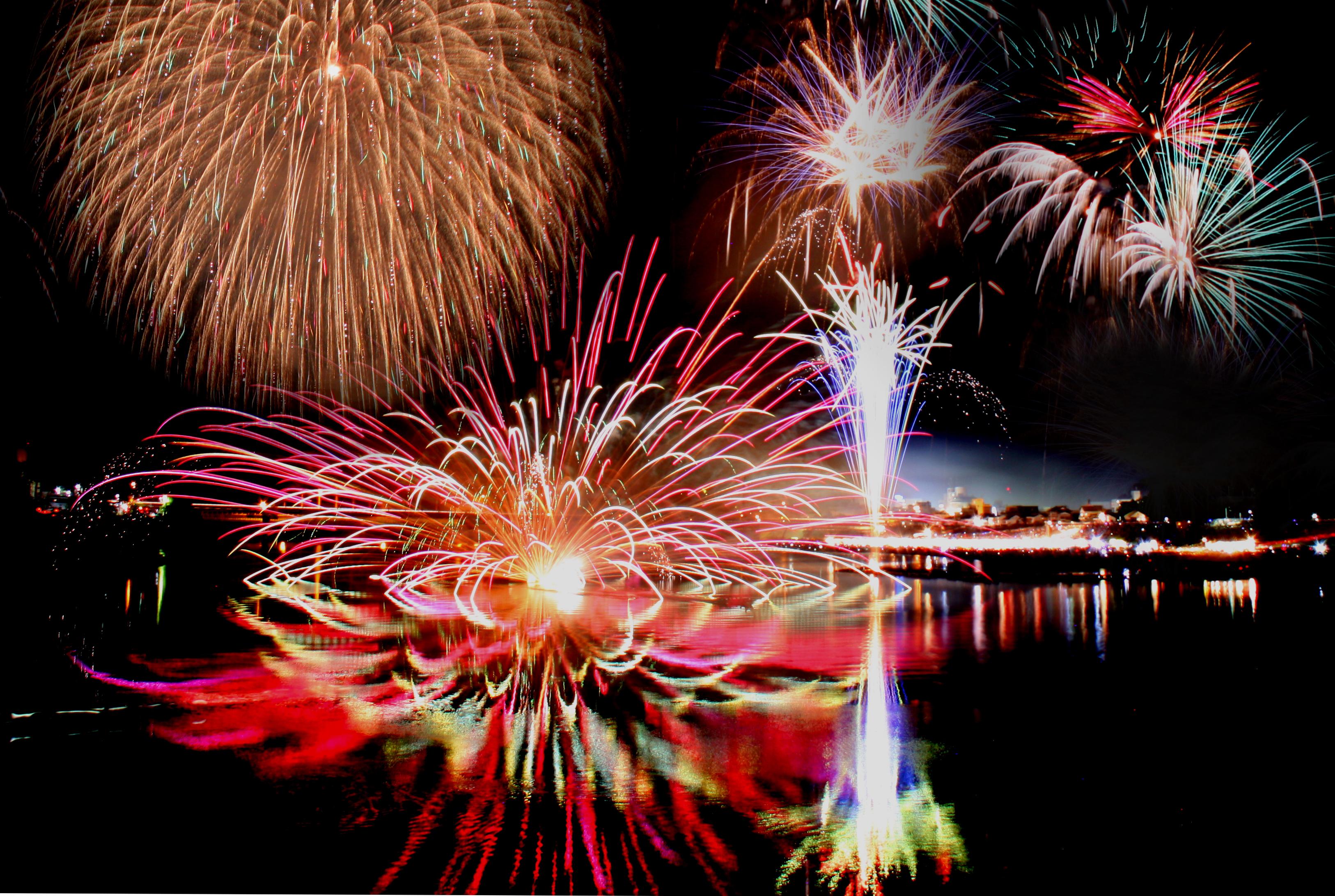 本日の第57回新宮花火大会は開催致します!